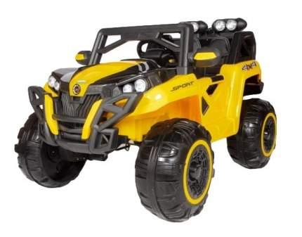 Двухместный электромобиль Barty Buggy  T777MP 4x4, с ЖК монитором, Жёлтый