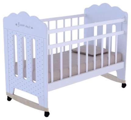 Кровать детская ВДК Bonne белый