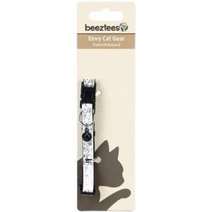 Ошейник для кошек Beeztees Forever, белый, 20-30см*10мм