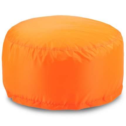 Бескаркасный пуф-таблетка ПуффБери Таблетка XL, оксфорд, Оранжевый