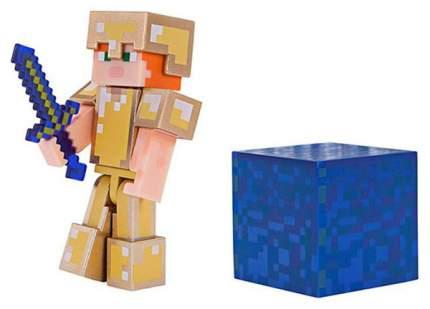Фигурка Minecraft Alex in Gold Armor 19970