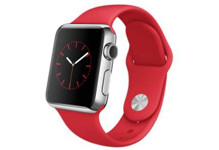 Apple Watch 38 мм, спортивный ремешок 130-200 мм (PRODUCT)RED