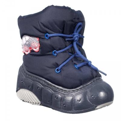 Сапоги зимние Котофей 061007 синие, размер 18