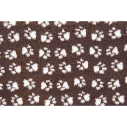 Коврик для собак ProFleece меховой, шоколадно-кремовый, 35х50 см