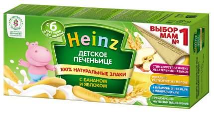 Печенье детское Heinz с бананом и яблоком, 6 мес., 24 шт по 160 г