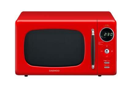 Микроволновая печь соло Daewoo KOR-669RR Red