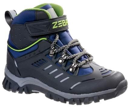 Ботинки Зебра зимние для мальчика 13991-5 р.34
