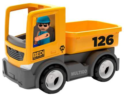 Строительный грузовик Efko с водителем 27276EF-CH