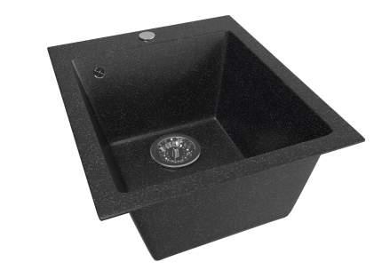 Мойка для кухни мраморная MIXLINE ML-GM14 черная