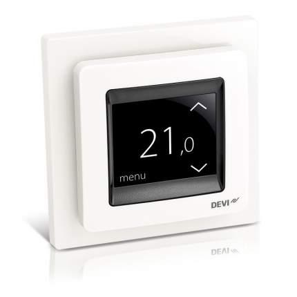 Терморегулятор для теплых полов Devi Devireg Touch White