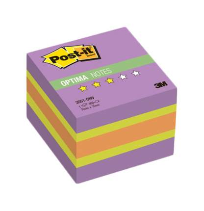 Блок самоклеящийся Post-it Optima 2051-ONV 400 шт