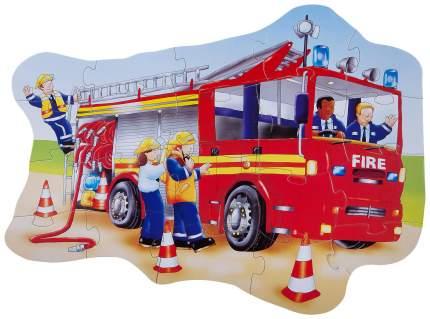 Пазл BONDIBON Пожарная машина ВВ2828 20 элементов
