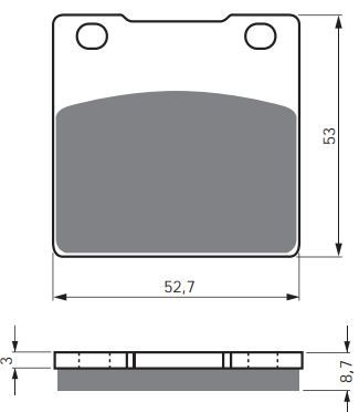 Тормозные колодки GoldFren 016 S33