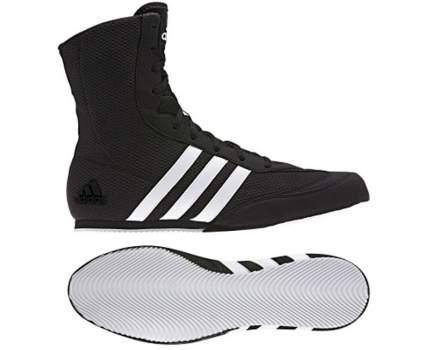 Боксерки Adidas Box Hog 2, black/cloud white/core black, 37
