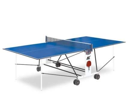 Теннисный стол Start Line Compact LX 08497 синий, с сеткой