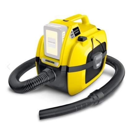 Аккумуляторный строительный пылесос Karcher  WD 1 Compact Battery 1.198-300.0