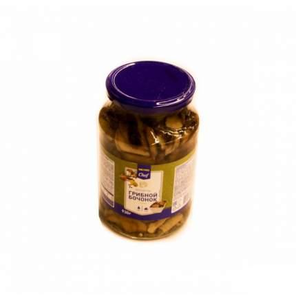 Ассорти Chef грибной бочонок маринованное 930 г