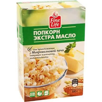 Попкорн Fine Life экстра масло 100 г 3 штуки