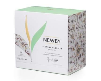 Чай зеленый Newby jasmine blossom 50 пакетиков