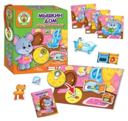 Семейная настольная игра Vlady Toys Мышкин дом VT2109-09