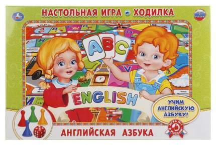 Семейная настольная игра Умка Английская Азбука