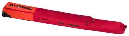 Чехол для беговых лыж Atomic RS Double Ski Wheelie, red/bright red, 210 см