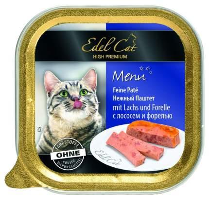 Консервы для кошек Edel Cat, лосось, рыба, 32шт, 100г