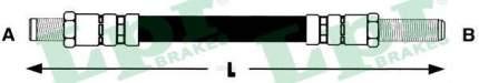 Шланг тормозной системы Lpr 6T46141 задний