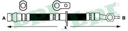 Шланг тормозной системы Lpr 6T47424 передний правый