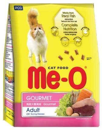 Сухой корм для кошек Me-O Adult, деликатес, 1,2кг