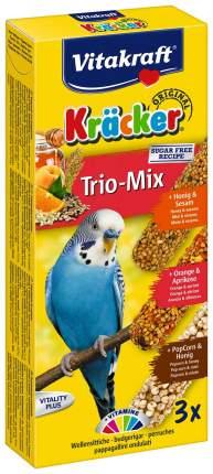 Лакомства для птиц Vitakraft Big Pack с медом, кукурузой и апельсином 3 шт
