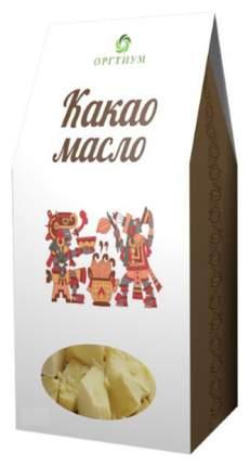 Какао масло Оргтиум горячего первого отжима 100 г