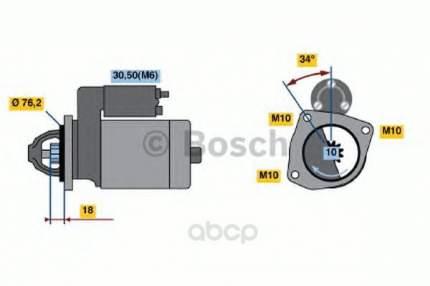 Стартер Bosch 0986020900