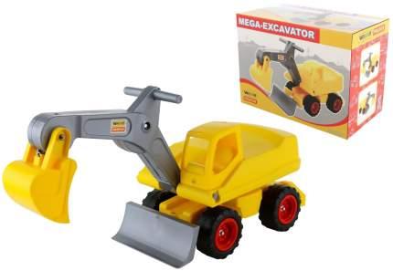 Мега-экскаватор Wader колёсный желтый