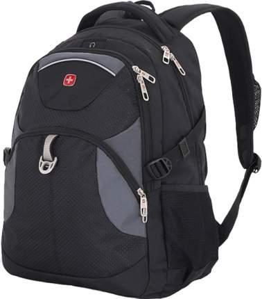 Рюкзак Wenger черный/серый 26 л