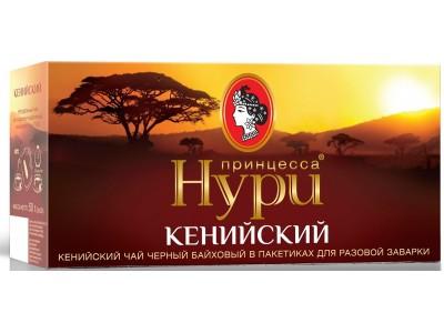 Чай черный Принцесса Нури кенийский 25 пакетиков