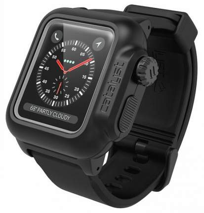 Водонепроницаемый чехол Catalyst WaterProof (CAT38WAT3BLK) для Apple Watch 2/3 38mm Black