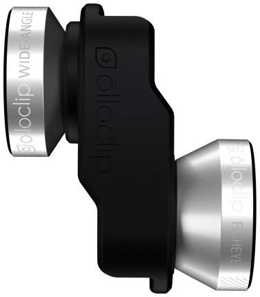Объектив для смартфона Olloclip Lens 4-in-1 для iPhone 6/6 Plus Silver/Black