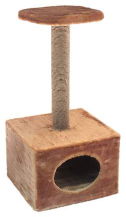 Комплекс для кошек Дарэлл, коричневый, 2 уровня