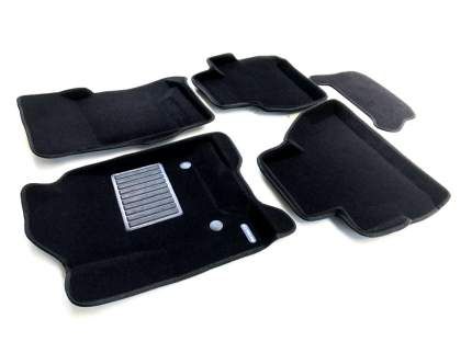 Комплект ковриков в салон автомобиля для Honda Euromat Original Business (emc3d-002600)