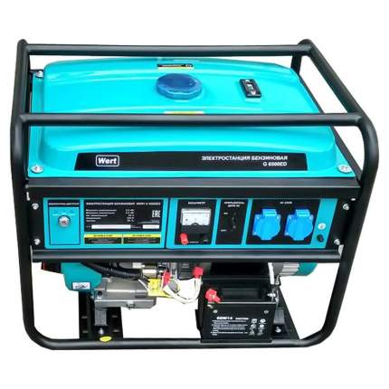 Бензиновый генератор WERT G 6500ED