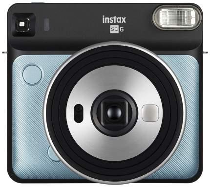 Фотоаппарат моментальной печати FUJIFILM instax SQ6 цвет голубой; черный