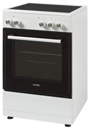 Электрическая плита Simfer HF55VW03017 White