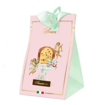 Кулич пасхальный Ameri с изюмом и цукатами в розовой сумке 500 г