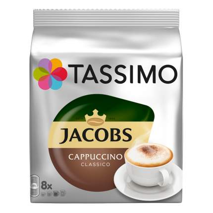 Кофе в капсулах Tassimo Jacobs Cappuccino 8 порций