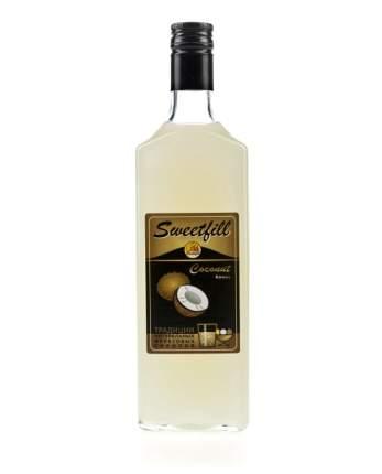 Сироп Sweetfill кокос стекло 500 мл