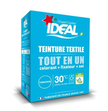 Краска для одежды и тканей Ideal MINI Все в Одном бирюзовая 230 г