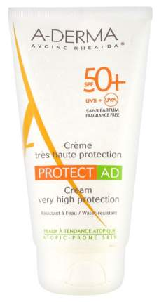 Солнцезащитное средство A-Derma Protect AD SPF50+ Cream 150 мл