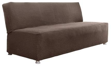 Чехол для дивана Karna Palermo Трехместный Темно-коричневый
