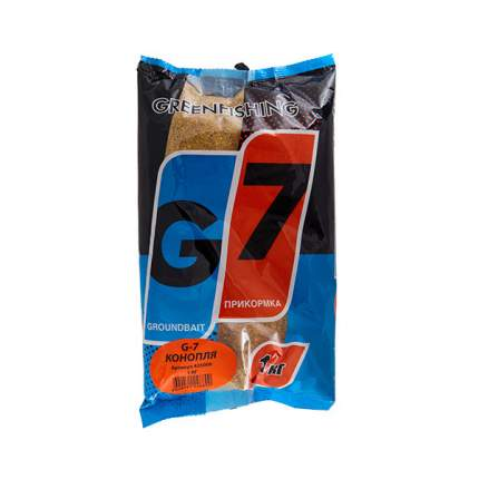 Прикормка летняя Green Fishing G7 Конопля 1 кг